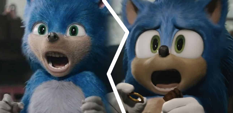 Sonic The Hedgehog transformation or the peculiarities of CGI design.