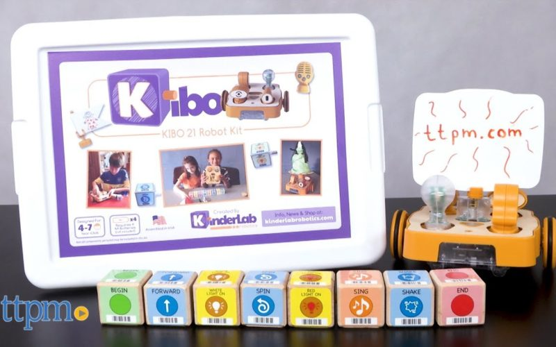 KIBO ROBOT KIT – НОВИНКА, ЯКА МОЖЕ ДОПОМОГТИ НАВЧИТИ МАЛЕНЬКИХ ДІТЕЙ КОДУВАННЮ, БЕЗ ВИКОРИСТАННЯ ЕКРАНІВ