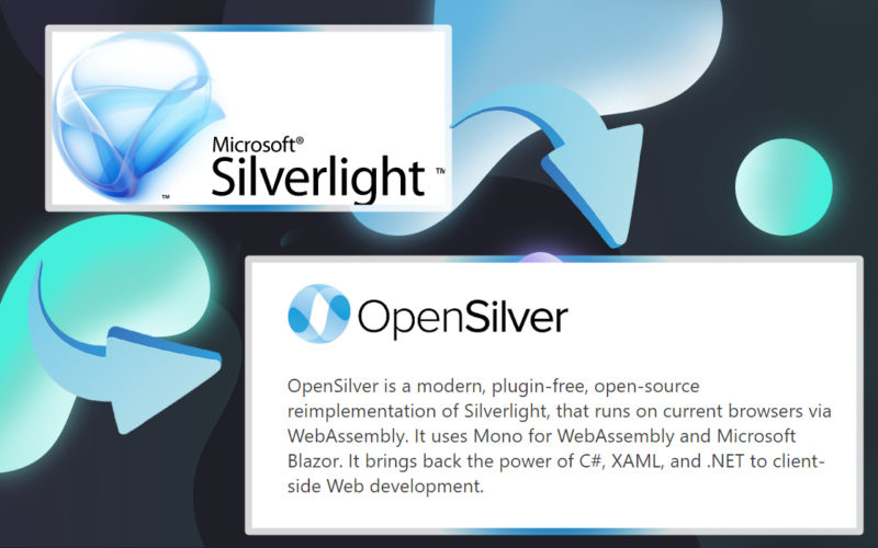 Opensilver: відкрита альтернатива Silverlight