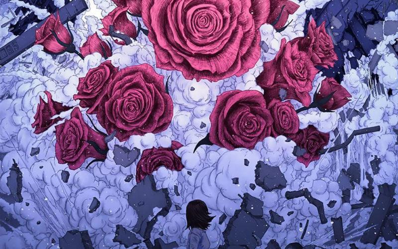 Ілюстратор з Японії зображує завойювання Токіо неймовірною флорою та фауною.