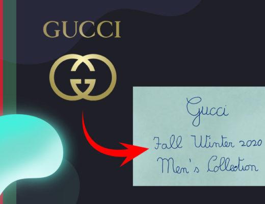 The New Gucci Logo