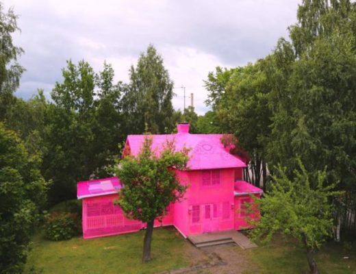 """У Фінляндії з'явився """"в'язаний"""" будинок."""