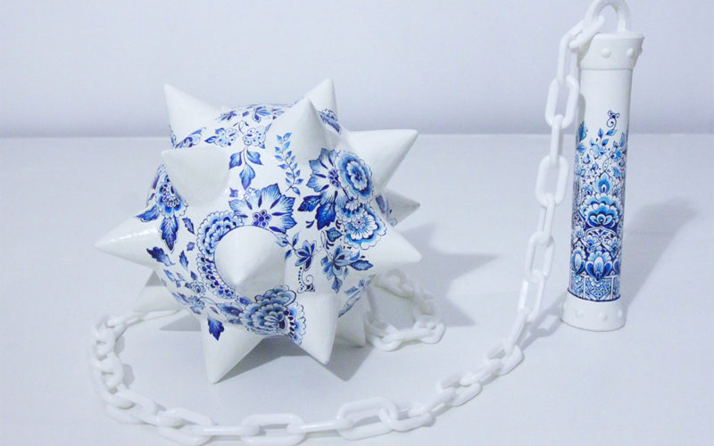 Fragility and Strength in Helena Hauss's Porcelain Sculptures.