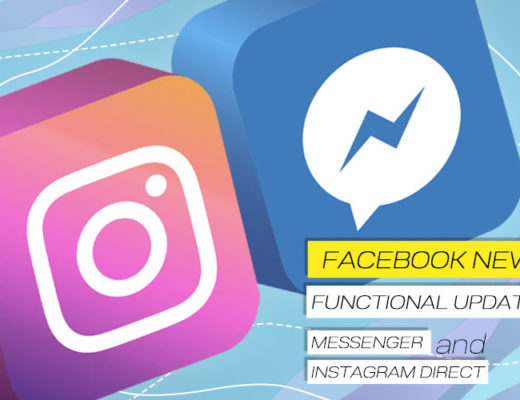 News from Facebook! Updated Functionality in Messenger and Instagram Direct.